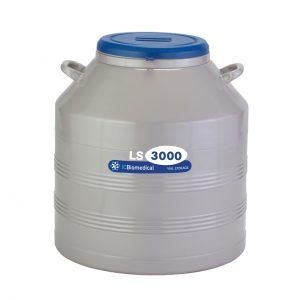 TW LS3000 Vial Storage