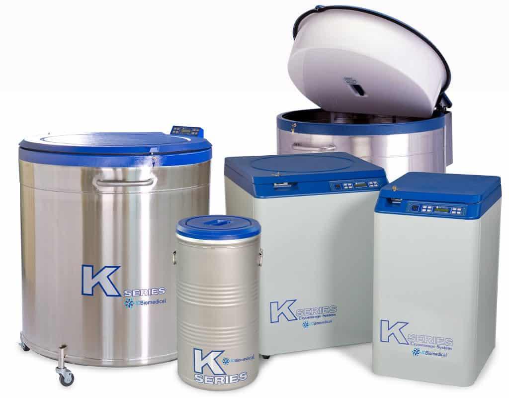 K Series Cryostorage Bulk Freezer Systems