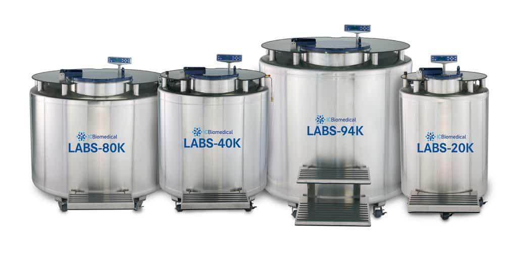 LABS Series Archival Biological Storage Cryostorage Bulk Freezers Systems
